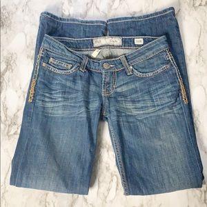 BKE Distressed Stella Bootcut Jeans Size 25